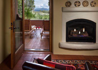 cedar-casita-fireplace-patio